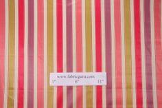 Richloom Shepton Woven Cotton Sateen Stripe Decorator Fabric in Berry $8.95 per yard