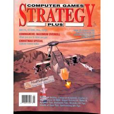 Cover Print of Computer Games Strategy Plus, January 1993 | $6.60