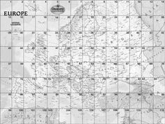 MapMaker Kit. Download, print, and assemble maps of Europe in a variety of sizes. The mega map occupies a large wall, or can be used on the floor. It is made up of 112 pieces; download rows 1-8 for the full map. The tabletop size is made up of 12 pieces and is good for small group work.