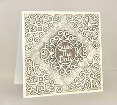 Swirly Corner Set 3 Card