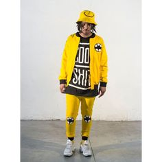 New arrivals! Check out more styles from Cool Shit on DishFashion.com Yellow Jacket  #Yellow #jacket #coolshit #trendy