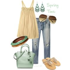 """Spring time"" by srose38 on Polyvore"