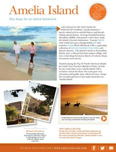 Southern Living: Florida Insider's Guide - Page 17 Florida Travel, Florida Beaches, Fernandina Beach Florida, Amelia Island Florida, Cumberland Island, Oh The Places You'll Go, Beach Trip, Day Trips, Vacation Destinations