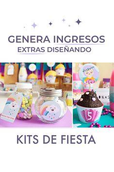¿Quieres saber cómo generar ingresos extras diseñando kits de fiestas? En este post te cuento los temas que debes de tener en cuenta #unafiestaabonita #ingresosextras