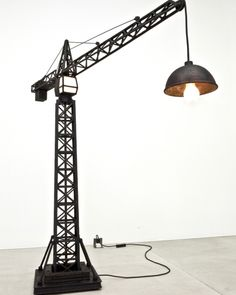 Crane Lamp by Studio Job carpenterworkshopgallery.com 2010