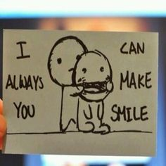 Sonríe..!!! Siempre se puede hacer sonreír...