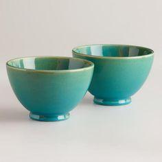 Stonington Bowls, Set of 2 | World Market on Wanelo