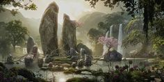 Once Upon A Blog...: Maleficent Concept Art (Oh My... WantArtOfBookNOW!)