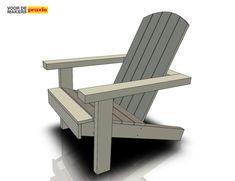 Maak je eigen tuinstoel   Stappenplan Outdoor Furniture Plans, Outdoor Chairs, Outdoor Decor, Decoration, Sun Lounger, Woodworking, Benches, Home Decor, Garden