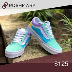 9ac4411781 Shop Women s Vans size Various Sneakers at a discounted price at Poshmark.  Description  BRAND NEW VANS CUSTOM SHOES.