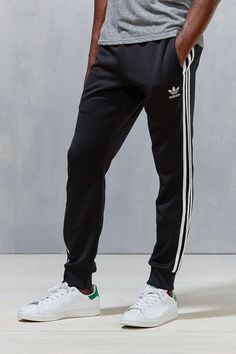 59d693599441 Adidas Originals Superstar Cuff Track Pant Black Size Small Adidas Outfit