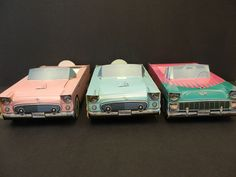 Mel's Diner Reno Kids Meal Car Boxes Set Of 3     $15.97         1746 #ClassicCruisers