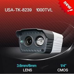 Good price KD appearance,8239 CMOS 1000TVL 3.6/6mm lens one wafer H.LED IR 20 meters indoor HD CCTV camera best buy