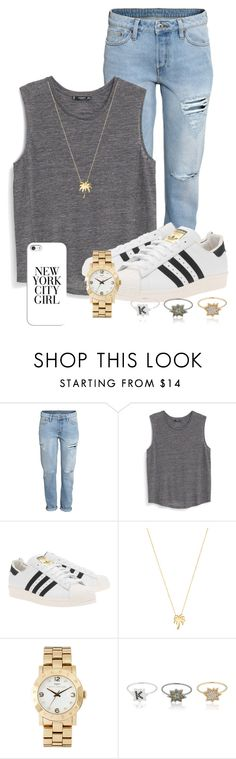 """""""Plain Grey Tank"""" by nina4ever14 ❤ liked on Polyvore featuring H&M, MANGO, adidas Originals, Joolz by Martha Calvo, Marc by Marc Jacobs, Kenzo, Casetify, women's clothing, women's fashion and women"""