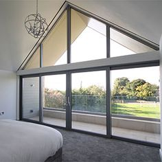 Innovative solutions to hide window blinds and to recess curtain tracks, in residential and commercial properties. Skylight Blinds, Window Blinds, Skylights, Blinds For Bifold Doors, Windows And Doors, Blinds And Curtains Living Room, Ceiling Curtains, Design Your Dream House, House Design