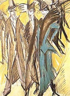 ernst ludwig kirchner dancer art for sale | G. Richter ...