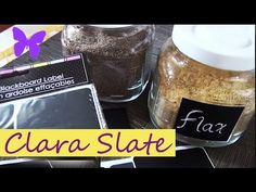 ♥ DOLLAR TREE CHALKBOARD LABELS! ♥ (how I use them)