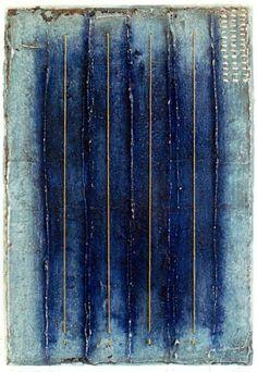 D-9.Feb.2001mixed madia/ paper making, painting, collage43.5x29.5cm林孝彦 HAYASHI Takahiko 2001