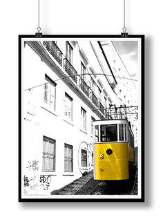 Lisbon story   by LoftPosterDesign on Etsy, zł85.00  #poster , #art ,  #wall,  #decorations, #Lisbon , #Lisboa