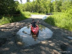 Where could You Paddle with one of these? www.TheRiverRuns.info #kayaking