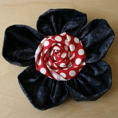 Cosmo Cricket Fabric Flower Tutorial