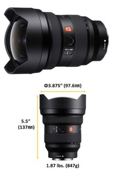 World's widest full-frame constant F2.8 at 12-24mm F2.8 max aperture provides extraordinary exposure and depth of field Spectacular resolution: 3x Extreme Aspheric elements, 1x Aspheric #lens #highqualitylens #photography #photographer #Photos #NewYorkCity #Amazon #amazonbestseller #cameralens #camera #cameras #PhotoOfTheDay #PhotoMode #bestlens #amazonproducts #amazonelectronics #electronics #photolover #photograpylover #marketing #digitalmarketing Amazon Electronics, Depth Of Field, Zoom Lens, Aperture, Camera Lens, Binoculars, Best Sellers, Headset, Sony