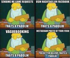 Paddlin