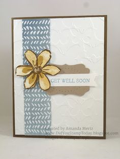 Did You Stamp Today?: Get Well Blossom - Stampin' Up! Garden in Bloom