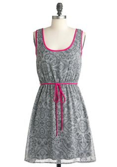 Let Me Paisley Dress, #ModCloth