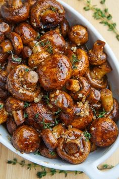 Balsamic Soy Roasted Garlic Mushrooms - Always eager to try different recipes fo. Balsamic Soy Roasted Garlic Mushrooms - Always eager to try different