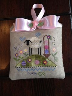 Shepherd's Bush Hold Hope cross stitch ornament inspiration