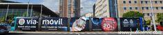 Rotulación Tranvia APP. Contacta con nosotros en el 922 646 824 o vía email a comercial@publiservic.com #rotulacion #vehiculo #tranvia #publiservic Tenerife, Balcony, Garden, Canary Islands, Advertising, Garten, Teneriffe, Lawn And Garden, Balconies