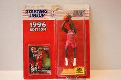 (TAS008066) - NBA Starting Lineup Basketball Figure - Jerry Stackhouse (Rookie)