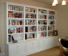 Cheap Painted Bookcases That Still Offer Both Style and Durability