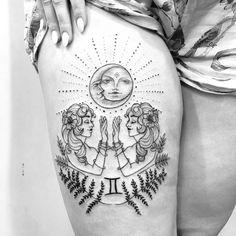 Gemini Moon Sign, Moon Signs, Full Moon, Piercing, Rorschach Test, Tattoos, Tattoo Ideas, Instagram, Design