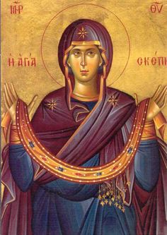 Archangel Mary, Mother Mary, Virgin Mary and in greek Αγία Παναγία ♥️♥️♥️ Byzantine Icons, Byzantine Art, Blessed Mother Mary, Blessed Virgin Mary, Religious Icons, Religious Art, Virgin Mary Art, Greek Icons, Russian Icons
