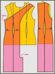 Trace o molde deste vestido com alças cruzadas na frente, em questão de minutos!!!   Imagem Divulgação      Mais uma vez, quem nos inspira ...