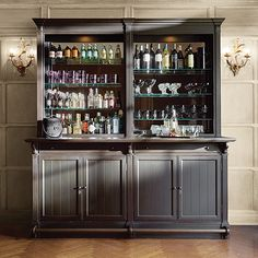 turn your dining room into a home bar - hotpads blog | blog