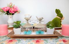 Thrifty Easter Decor and Tablescape Ideas | Dagmar's Home