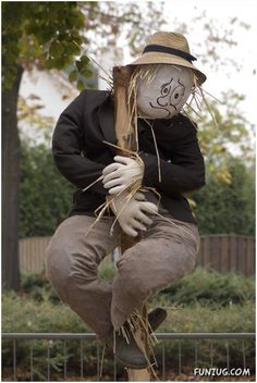 Creative Scarecrows for your Fields