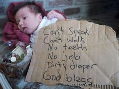 Parenting FAIL - Has money enough to smoke dope, sit on internet with smart phone and keep a pet, but is homeless, and needs public defender to fight restraining order violation. Haha Funny, Hilarious, Fun Funny, Super Funny, Funny Stuff, Baby Pictures, Funny Pictures, Funny Quotes, Funny Memes