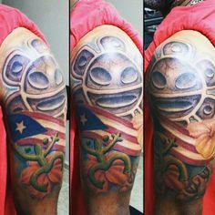 Puerto rico tat taino symbolism my tattoo ideas for Puerto rican frog tattoo