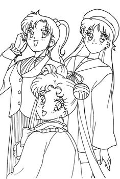 Sailor Moon Coloring Pages, Cute Coloring Pages, Coloring Pages For Girls, Coloring Sheets, Coloring Books, Arte Sailor Moon, Sailor Moon Stars, Sailor Moon Crystal, C Anime