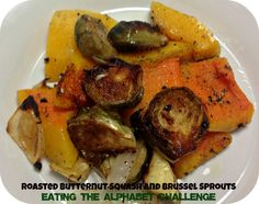 Roasted Butternut Squash and Brussel Sprouts | The Tumbleweed Contessa