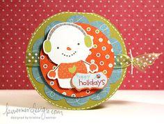 Kwernerdesign Holiday Card Series - Day 6