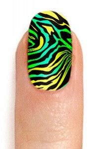 Animal printed nail warps. Some look tacky and cheap and some styles look really good and different