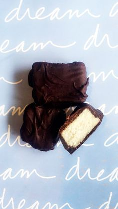 Chocolate Covered Coconut Bars | daydreamdrifter.co.nz