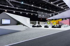 SWIFT Stand, Sibos - Rapiergroup :: Award-winning strategy, design and management for conferences, exhibitions and events