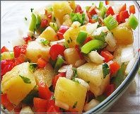 Heart Healthy Pineapple Salsa