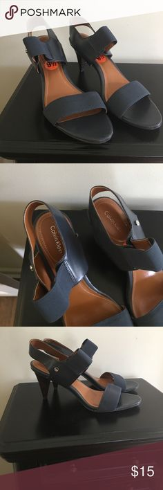 Calvin Klein Heels Calvin Klein size 9.5 heels Calvin Klein Shoes Heels